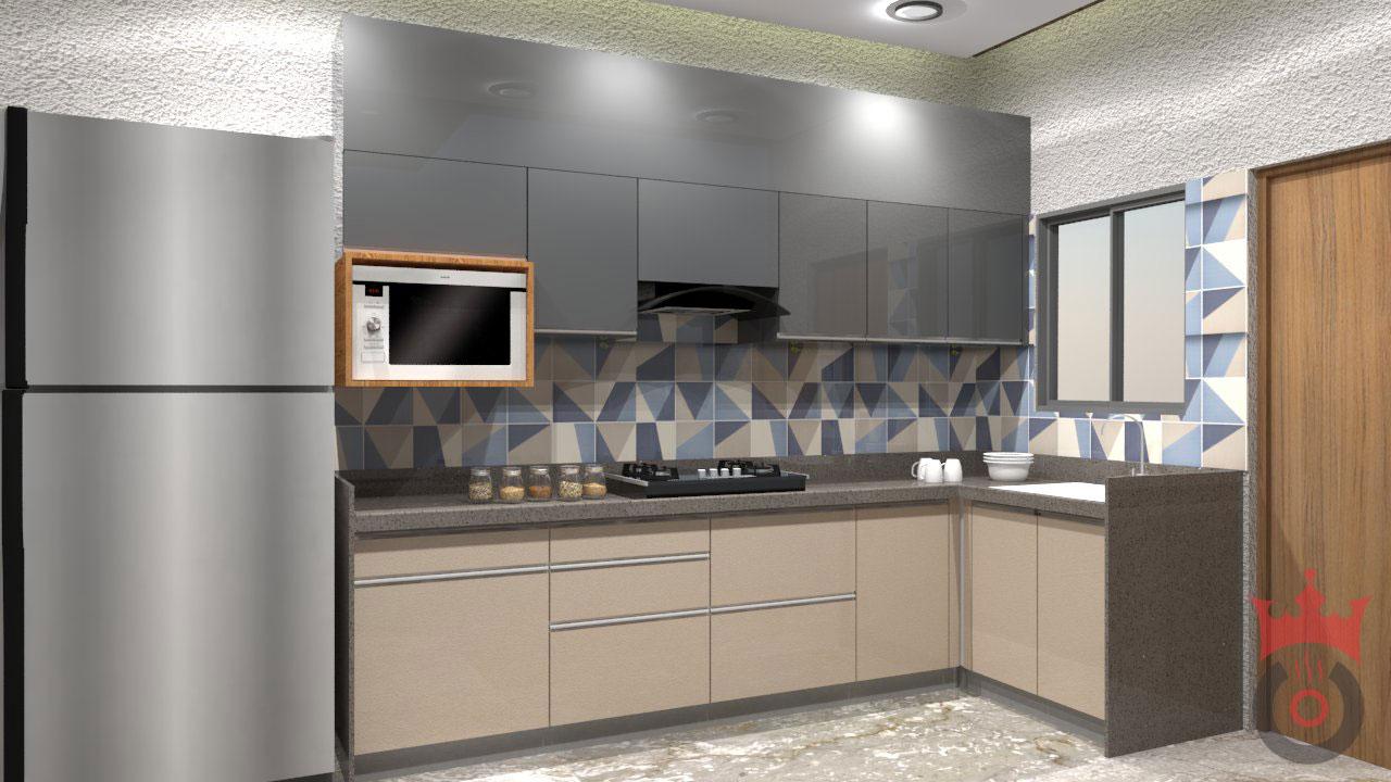 Silver Gray-1-Coronet Kitchens
